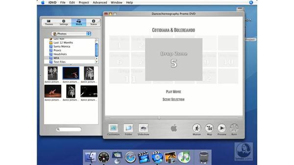Menus: iMovie HD + iDVD 5 Essential Training