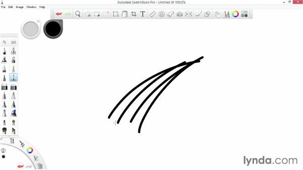 Advantages of digital sketching: SketchBook Pro 7 Essential Training