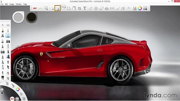 : SketchBook Pro 7 Essential Training