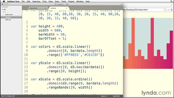 Creating meaningful color scales: Data Visualization with D3.js