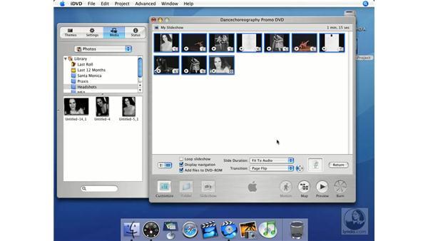 Keynote-style transition effects: iMovie HD + iDVD 5 Essential Training