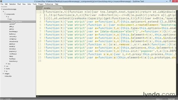PC Bootstrap Setup: Bootstrap 3: Advanced Web Development