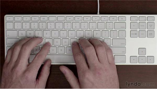 Learning the home row keys: Typing Fundamentals