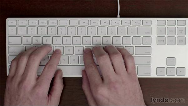 Home row keys extended: Typing Fundamentals