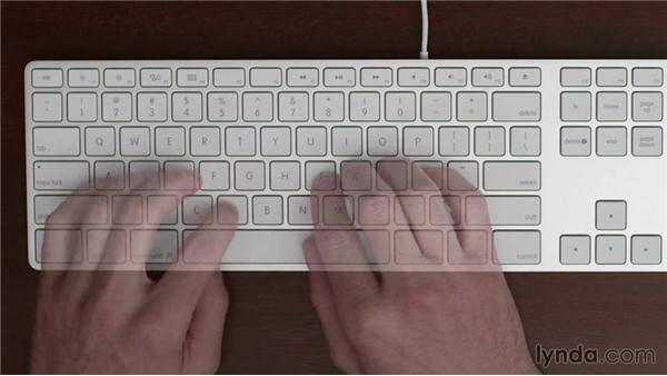 Learn the Z, X, C, V, and B keys: Typing Fundamentals