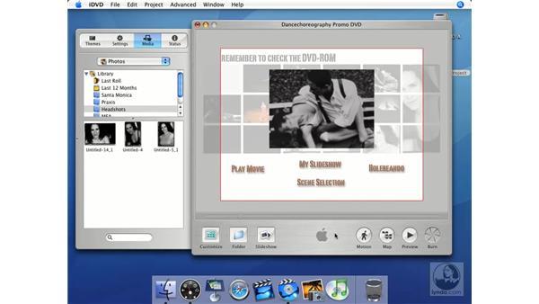Burning: iMovie HD + iDVD 5 Essential Training