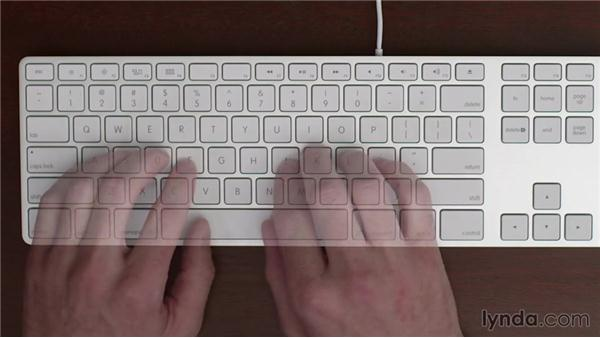 Shift keys: Typing Fundamentals