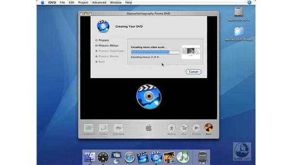 Media and discs: iMovie HD + iDVD 5 Essential Training