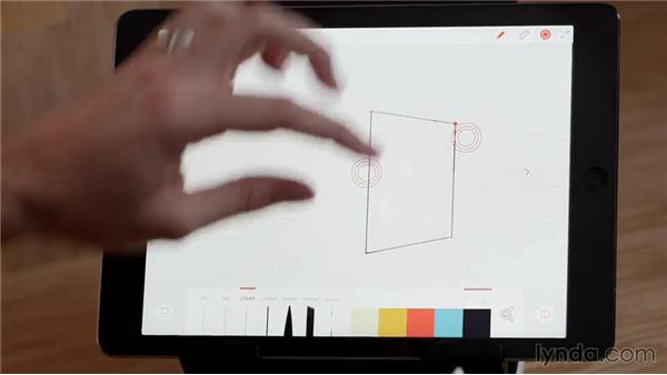 Project: Drawing in perspective: Creating with Adobe's Line and Sketch Apps