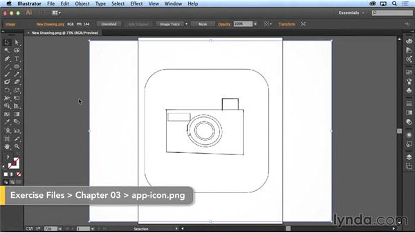 Project: Creating icons with Line and Illustrator: Creating with Adobe's Line and Sketch Apps