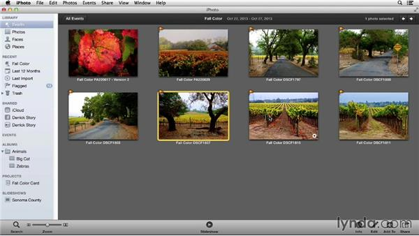 What's new in iPhoto?: Up and Running with iPhoto