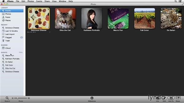 Understanding iPhoto organization: Up and Running with iPhoto