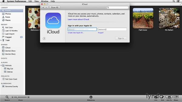 Connecting iPhoto to iCloud: Up and Running with iPhoto