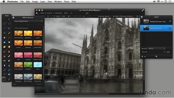 Saving your work: Up and Running with Pixelmator