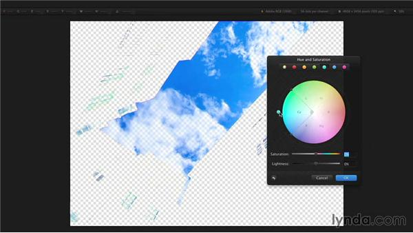 Selecting an area based on color: Up and Running with Pixelmator
