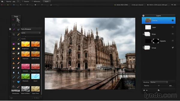 Why use layers?: Up and Running with Pixelmator