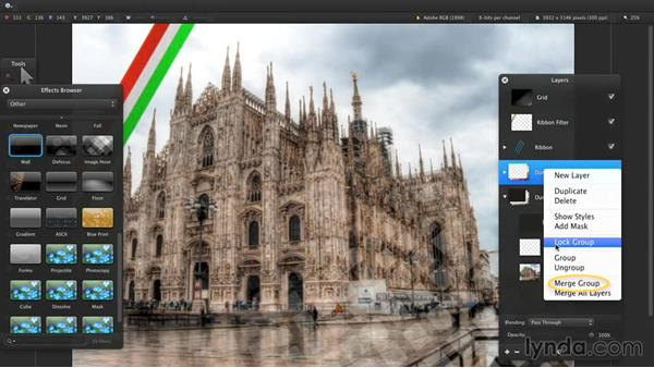 Transforming and blending layers: Up and Running with Pixelmator
