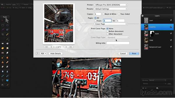 Printing: Up and Running with Pixelmator