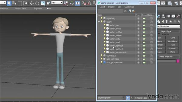 Naming schemes: Character Rigging in 3ds Max