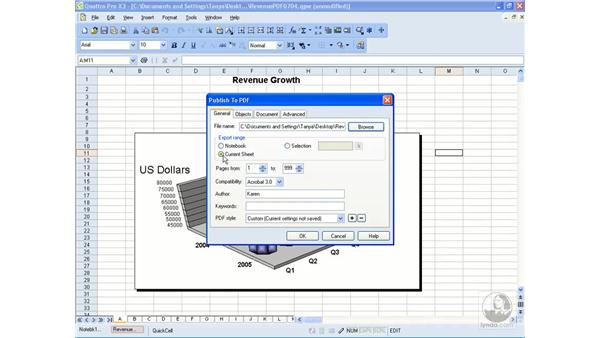 Exporting to PDF: Getting Started With WordPerfect Office X3