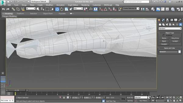 Creating hand skeletons: Character Rigging in 3ds Max