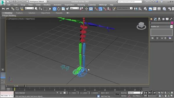 Controlling knee direction: Character Rigging in 3ds Max