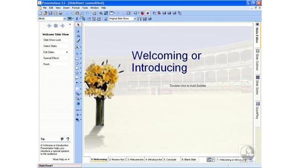 The interface and Perfect Expert: Getting Started With WordPerfect Office X3