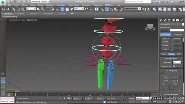 Setting up the spine: Character Rigging in 3ds Max