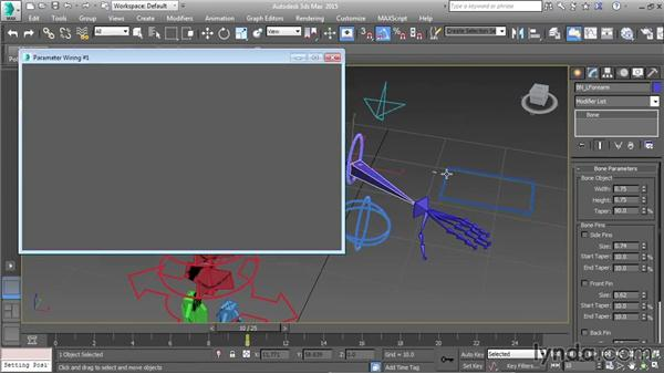 Wiring up the FK/IK switch: Character Rigging in 3ds Max