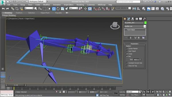 Setting up finger FK controls: Character Rigging in 3ds Max