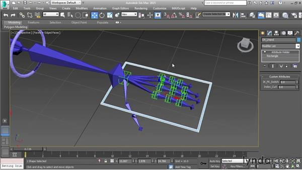 Creating a control pane using attributes: Character Rigging in 3ds Max