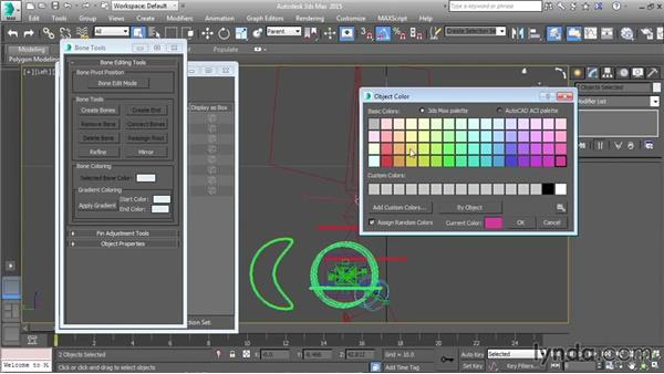 Creating a jawbone: Character Rigging in 3ds Max