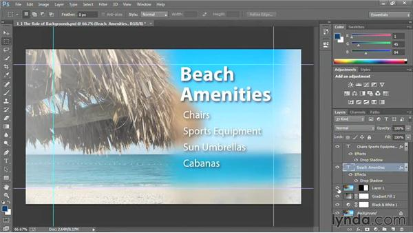 The role of backgrounds: Motion Graphics for Video Editors: Creating Backgrounds