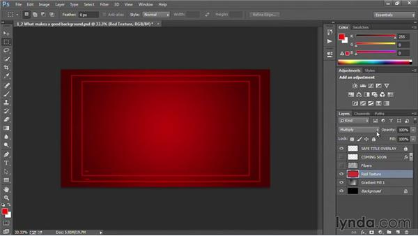 What makes a good background?: Motion Graphics for Video Editors: Creating Backgrounds
