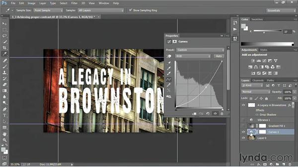 Achieving proper contrast: Motion Graphics for Video Editors: Creating Backgrounds