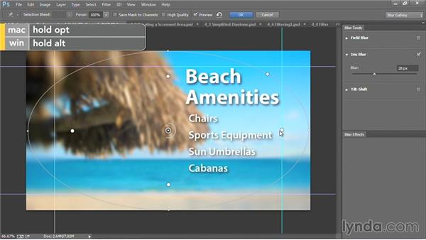 Defocusing a background: Motion Graphics for Video Editors: Creating Backgrounds
