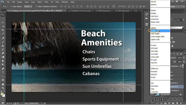 Creating a screened area: Motion Graphics for Video Editors: Creating Backgrounds
