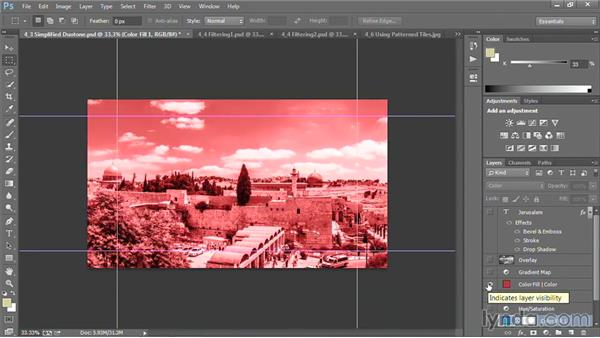 Simplified duotone backgrounds: Motion Graphics for Video Editors: Creating Backgrounds