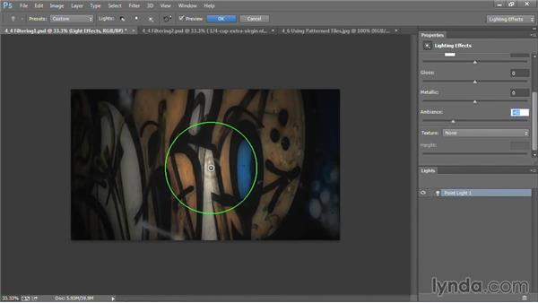 Filtering a background: Motion Graphics for Video Editors: Creating Backgrounds