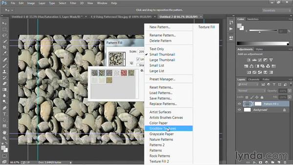 Using patterned tiles: Motion Graphics for Video Editors: Creating Backgrounds