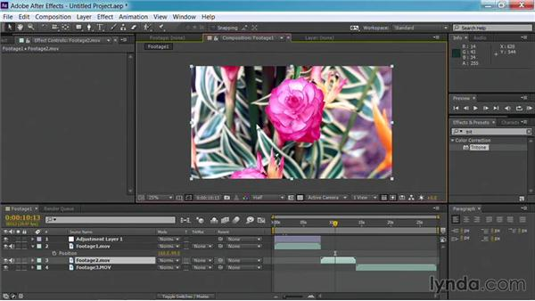 Choosing footage for backgrounds: Motion Graphics for Video Editors: Creating Backgrounds