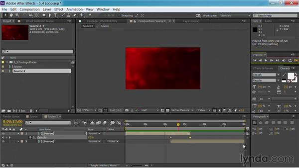 Looping the background: Motion Graphics for Video Editors: Creating Backgrounds