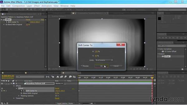 An alternative workflow with still images and keyframes: Part one: Motion Graphics for Video Editors: Creating Backgrounds