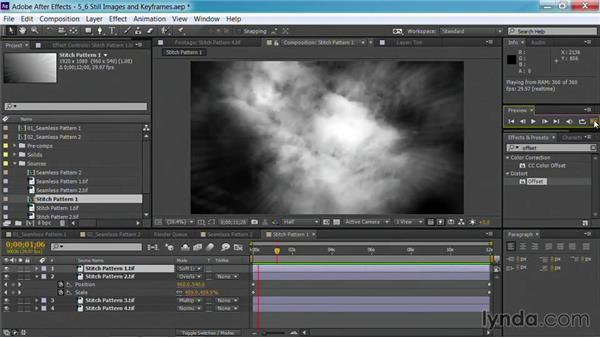 An alternative workflow with still images and keyframes: Part two: Motion Graphics for Video Editors: Creating Backgrounds