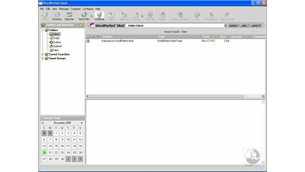 Exploring the interface: Getting Started With WordPerfect Office X3