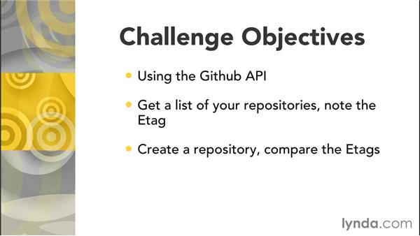 Challenge: Understanding caching with ETags: Effective Design of RESTful APIs