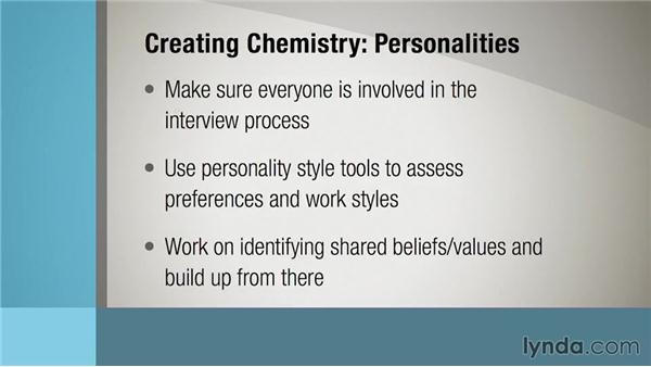 Creating chemistry and trust: Building High-Performance Teams