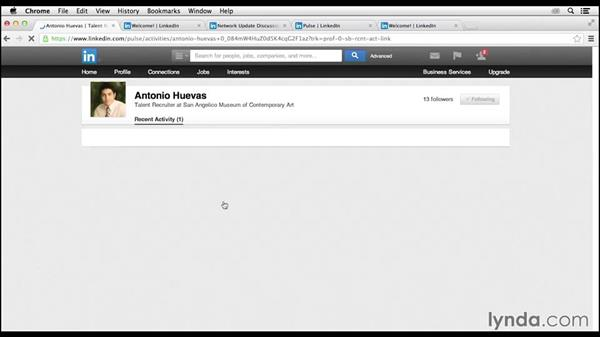 Using the Who's Viewed Your Updates tool: LinkedIn for Business