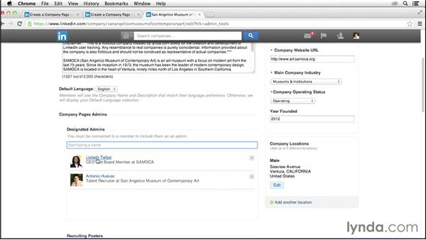 Creating your Company Page: LinkedIn for Business