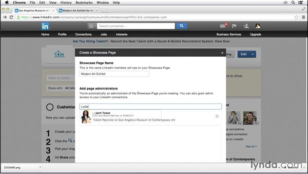 Creating Showcase Pages: LinkedIn for Business